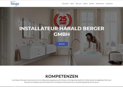 Installateur Harald Berger